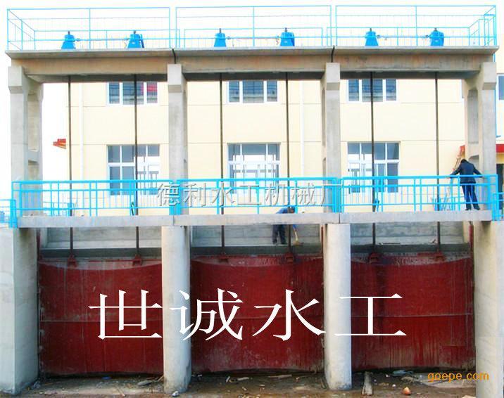 溢洪道用钢结构闸门 铸铁闸门