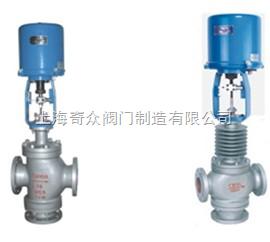 电子式电动三通调节阀(采用381L型电子式电动执行器)