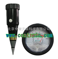 土壤酸度水分計/土壤酸濕度計/土壤酸堿度計/便攜式土壤酸度計 型號:HK/ZYSDT-60