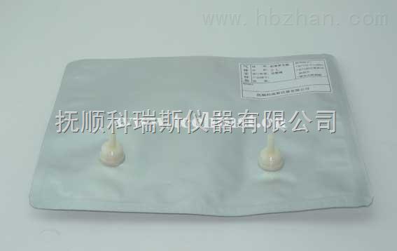 气体采样袋 铝膜气袋 铝塑复合膜气体袋 气体采样 采样袋 4L 双阀