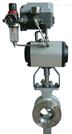 氣動v型調節球閥