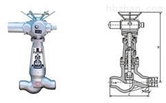 电动焊接截止阀