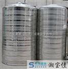 湖南圆柱形不锈钢水箱 星沙不锈钢生活水箱