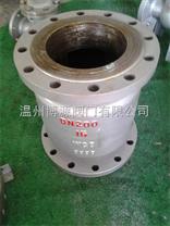 不锈钢H42W-25P-DN500立式止回阀
