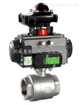 Q611F/PPL/H气动二片式球阀