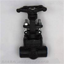 Z61H、Z61Y、Z61W 型 PN100~PN160 承插焊楔式閘閥