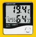 HTC-1-正品家用电子HTC-1温湿度计数显/温湿度表/闹钟/日历