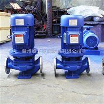 管道泵生产厂家:SGP型立式不锈钢管道泵温州威王