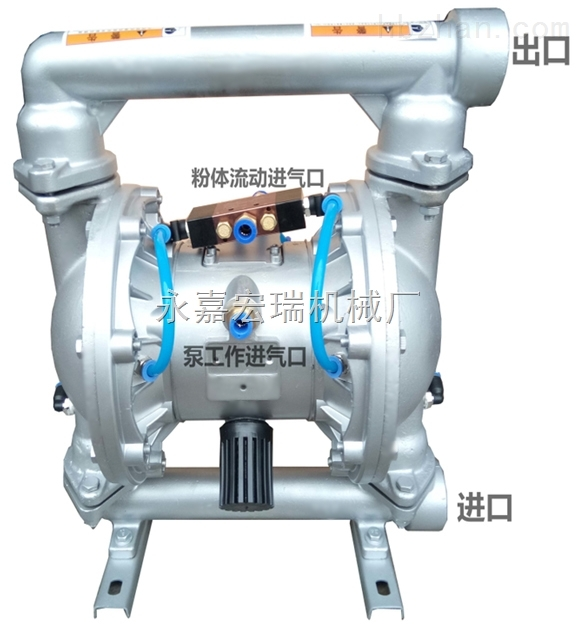 粉末气动隔膜泵