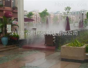 云南商业街喷雾降温工程