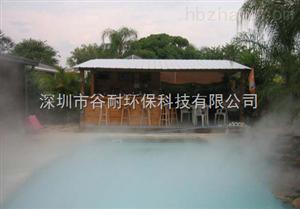 四川景区户外餐厅喷雾降温工程产品资讯