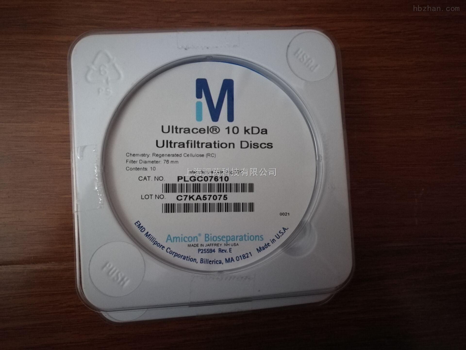 Millipore 10K PLGC07610超滤膜