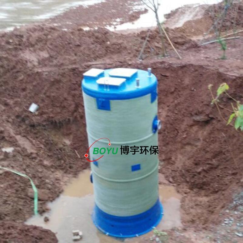 一体化预制泵站施工方案