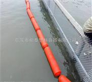 河道垃圾處理攔截浮筒塑料浮筒廠家