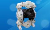 侠飞全塑料气动隔膜泵适用于各种腐蚀性液体