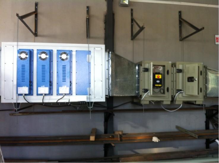 本公司专业生产厨房油烟净化器,有高/低空,和各种风量,可供各种类型