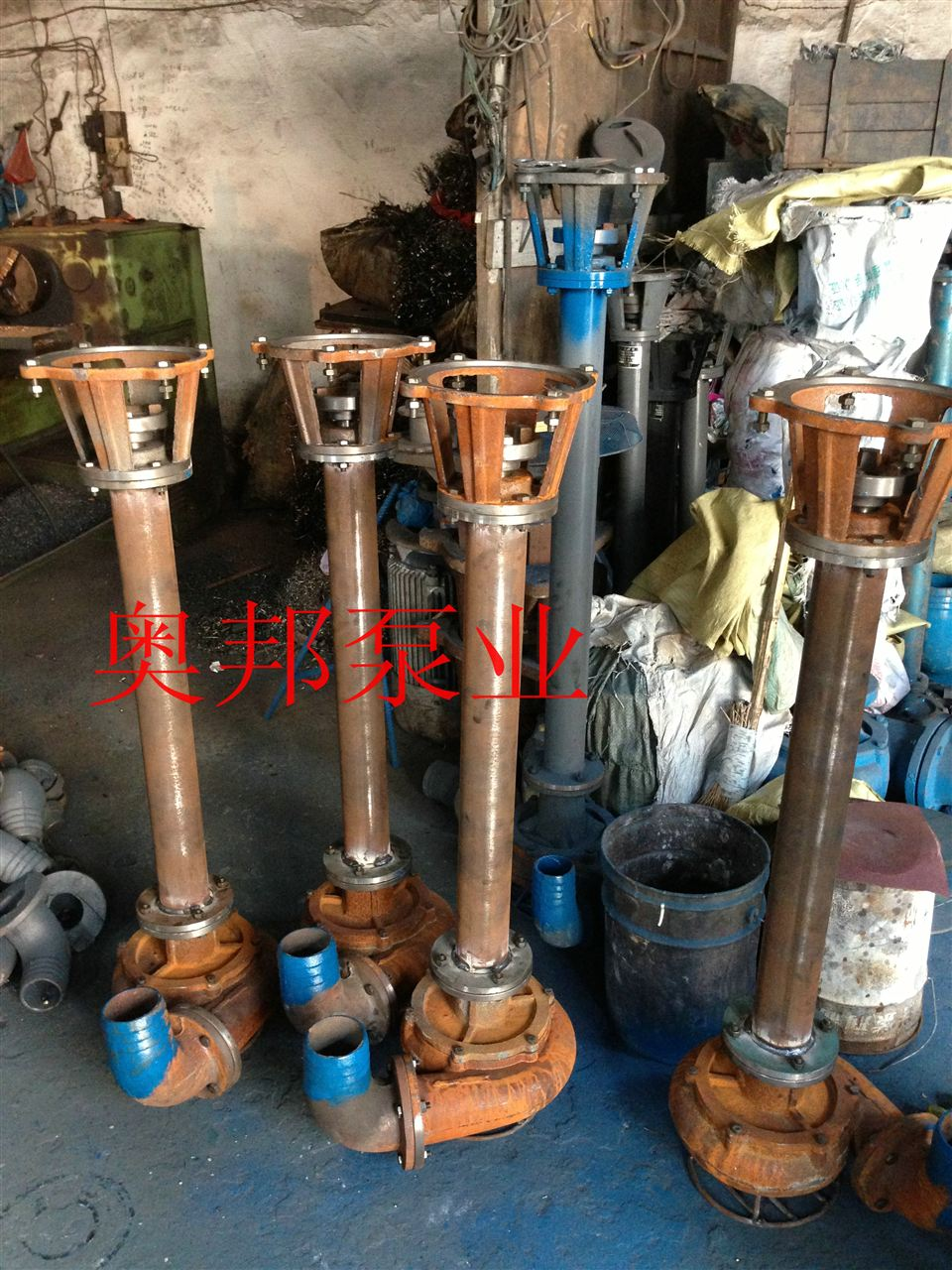 潜水泵及排污泵的安装方法