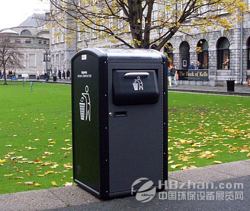 英国推最先进智能垃圾桶