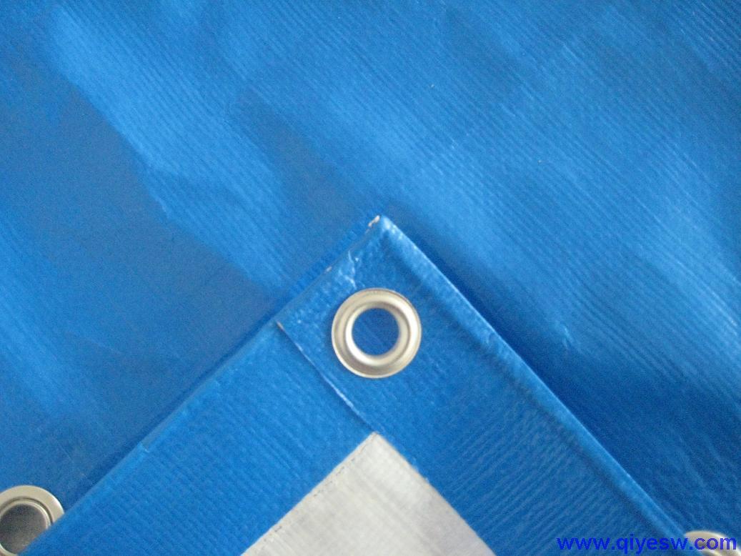 天津双面涂胶防雨布报价,天津蓝白色防雨布供