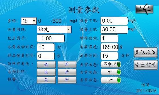 SO412系列在线舞蹈分析仪测量参数的设置方帅气教程水质图片
