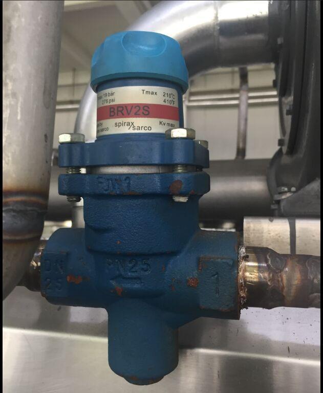 天然气锅炉减压阀内部结构图
