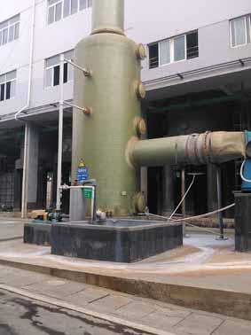 洗涤塔结构性能-技术文章-枣强县康泰环保设备厂