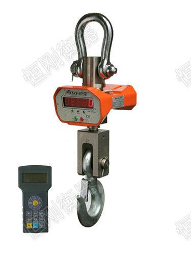 电子吊磅秤全钢结构外壳,美观,坚固,长久耐用. 4.