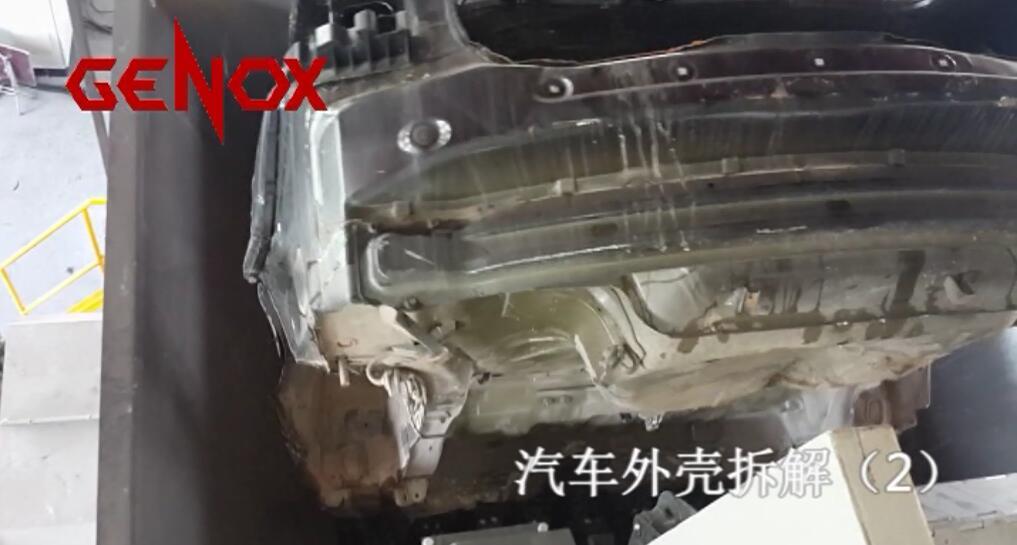 报废汽车拆解生产线具有高效