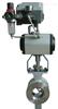 Qv341F气动v型调节球阀