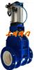 Z644TC气动陶瓷进料阀 ,气动陶瓷出料阀